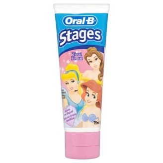 Oral-B Princess/Car Toothpaste 75 ml