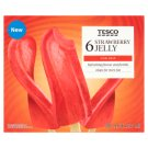 Tesco Strawberry Jelly Ice Cream 6 pcs 300 ml