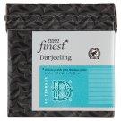 Tesco Finest filteres Darjeeling fekete tea 50 filter 125 g