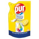 Pur Secrets of the Chef Soda Effect Lemon Hand Dishwashing Liquid Refill 450 ml