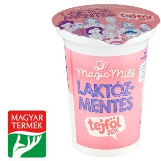 Magic Milk élőflórás laktózmentes tejföl 20% 325 g