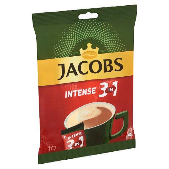 Jacobs Intense 3in1 azonnal oldódó kávéitalpor 10 db 175 g