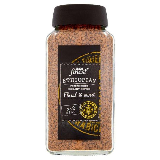 Tesco Finest azonnal oldódó etióp kávé 100 g