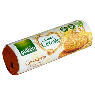 Gullón Cuor di Cereale Puffed Rice Cereal Biscuit, High in Fibre 265 g