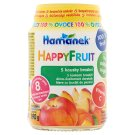 Hamánek HappyFruit Baby Dessert with Apple-Peach Pieces 8+ Months 190 g