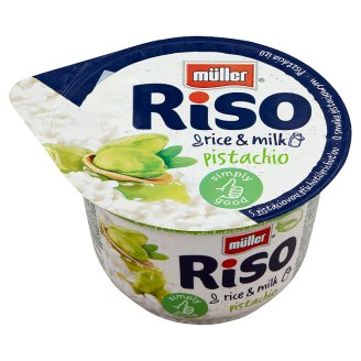 Müller Riso Pistachio Flavoured Rice Pudding 200 g