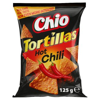 Chio Tortillas Chili Flavoured Corn Snack 125 g