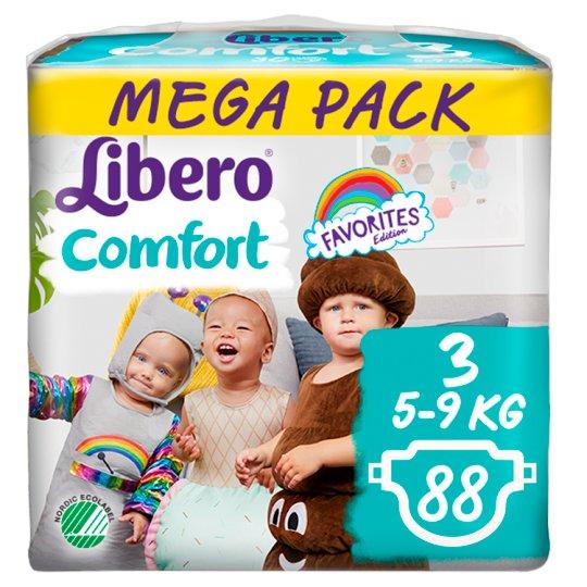 Libero Comfort 3 5-9 kg prémium nadrágpelenka 88 db