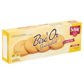 Schär Bisc'Or gluténmentes vajas keksz 120 g