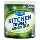 Springforce Jumbo Eco Kitchen Towels 2 Ply 1 Roll