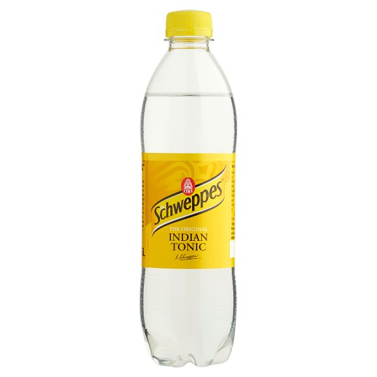 Schweppes Indian Tonic Carbonated Soft Drink 0,5 l
