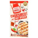 Tesco Grill Camembert Cheese with 16 g Hot Spices 4 x 80 g