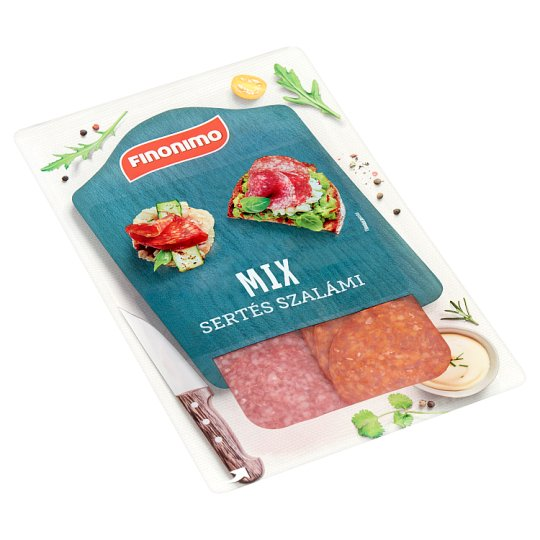 Finonimo Sliced Pork Salami Mix 75 g