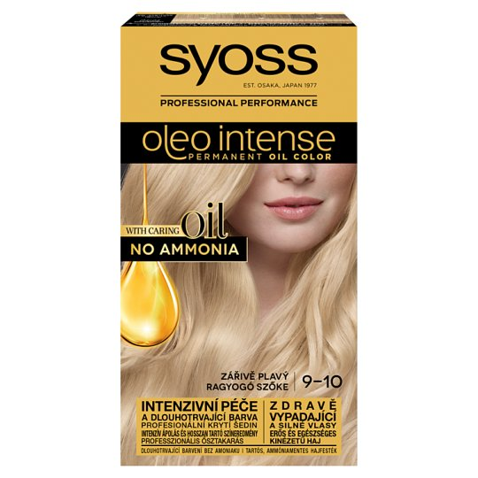 Syoss Color Oleo Intense Oil Hair Colorant 9-10 Shiny Blonde