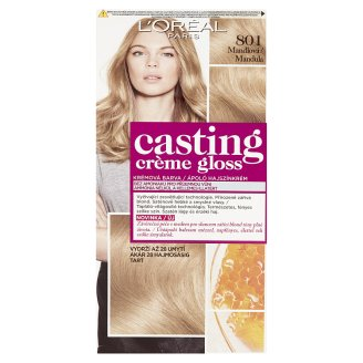 L'Oréal Paris Casting Crème Gloss Glossy Blonds 801 Almond Permanent Hair Colorant