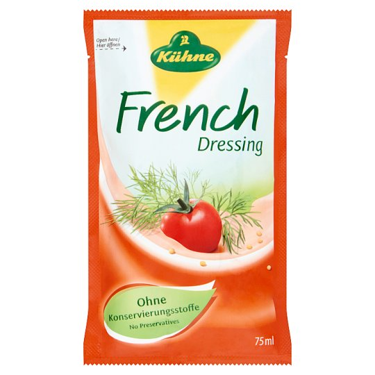 Kühne francia öntet 75 ml