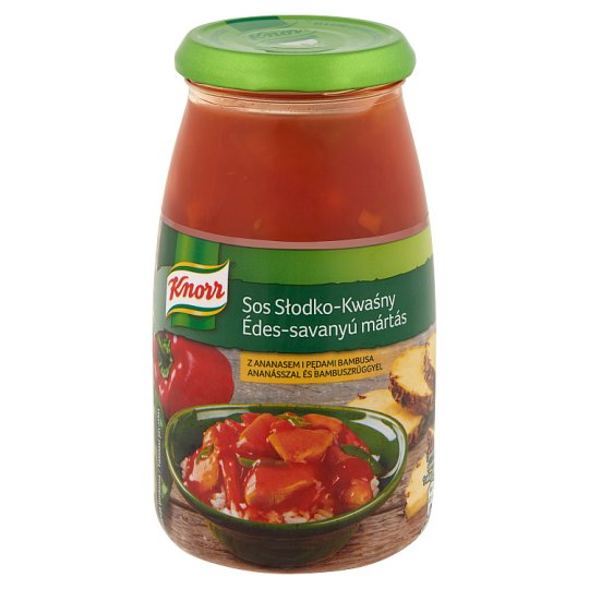 Knorr édes-savanyú mártás 525 g
