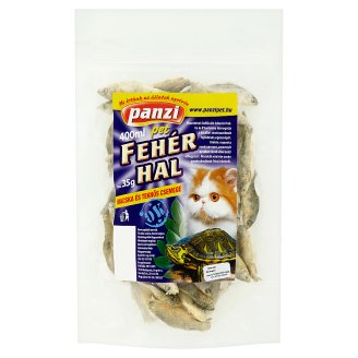 Panzi Pet White Fish for Cats & Turtles 400 ml