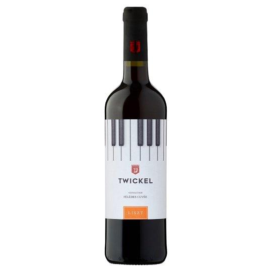Twickel Liszt Szekszárdi Medium Sweet Cuvée Red Wine 11,5% 750 ml