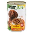 VitalBite teljes értékű állateledel felnőtt kutyák számára baromfival aszpikban 415 g