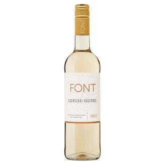Font Kunsági Cserszegi Fűszeres Dry White Wine 13% 750 ml
