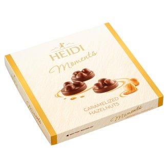 Heidi Moments tejcsokoládé desszert egész mogyoróval 142 g
