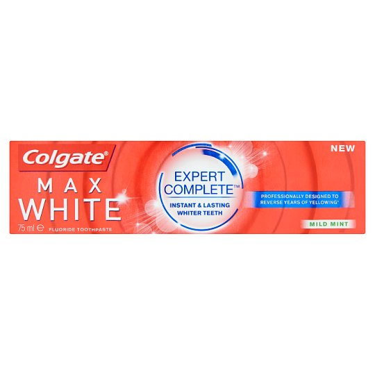 Colgate Max White Expert Complete Mild Mint Toothpaste 75 ml