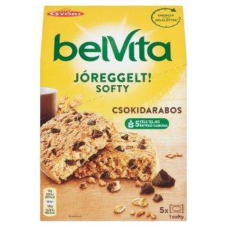 Belvita JóReggelt! Softy Grain Biscuit with Chocolate Pieces 5 pcs 250 g