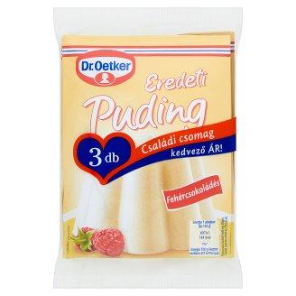 Dr. Oetker Eredeti Puding fehércsokoládés pudingpor 3 x 46 g