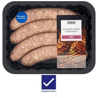 Tesco Sausage with Garlic and Pepper 400 g