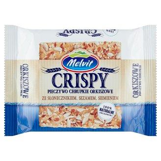 Melvit Crisper napraforgómagos, szezámmagos, lenmagos tönkölybúza lapkenyér 100 g