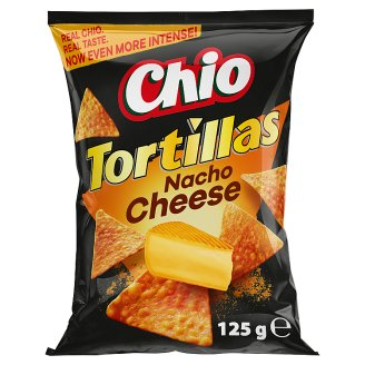 Chio Tortillas Cheese Flavoured Corn Snack 125 g