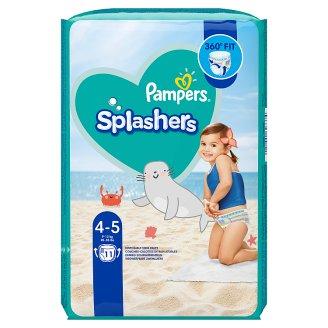 Pampers Splashers 4-as Méretű, 11 Eldobható Úszópelenka