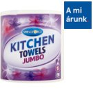 Springforce Jumbo Kitchen Towels 2 Ply 1 Roll