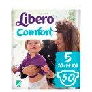 Libero Comfort 5 10-14 kg Premium Nappies 50 pcs