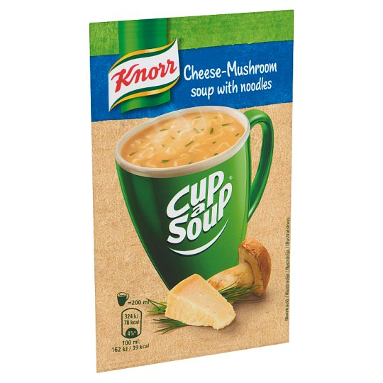 Knorr Cup a Soup Champignon Cream Soup with Cheese 17 g