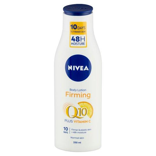 NIVEA Q10 bőrfeszesítő testápoló C-vitaminnal 250 ml