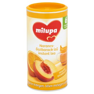Milupa Orange and Peach Flavoured Instant Tea 6+ Months 200 g