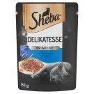 Sheba alutasakos tonhallal aszpikban teljes értékű állateledel felnőtt macskák számára 85 g