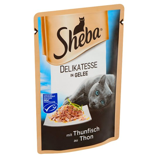 Sheba Alupacket with Tuna in Aspic Complete Pet Food for Adult Cats 85 g