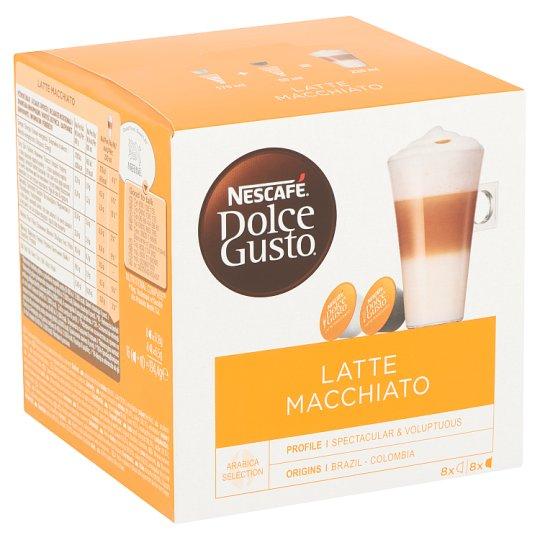 Nescafé Dolce Gusto Latte Macchiato Roast & Ground Coffee & Milk Powder with Sugar 2 x 8 pcs 194,4 g