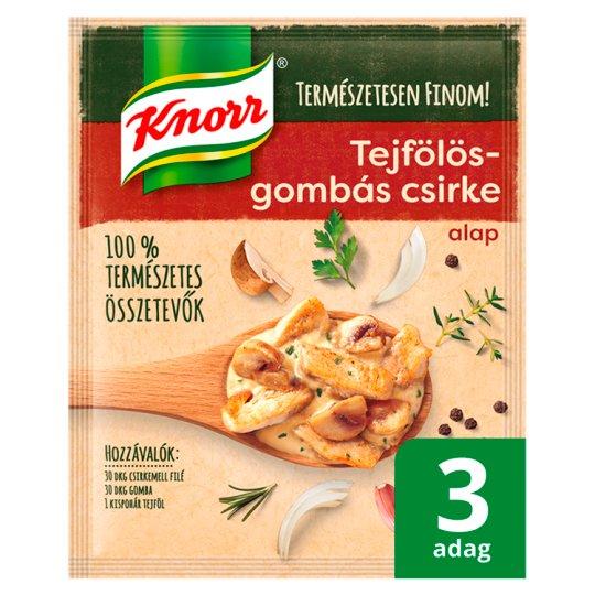 Knorr tejfölös-gombás csirke alap 45 g