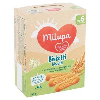 Milupa Biskotti Biscuit for Babies 6+ Months 180 g
