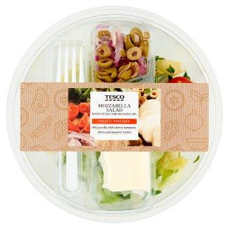 Tesco friss salátakeverék mozzarella sajttal és zöld olívabogyóval 220 g