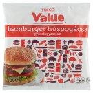 Tesco Value gyorsfagyasztott hamburger húspogácsa 1000 g