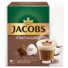Jacobs Cappuccino őrölt-pörkölt kávé kapszulában és tejpor cukorral kapszulában 2 x 7 db 168 g