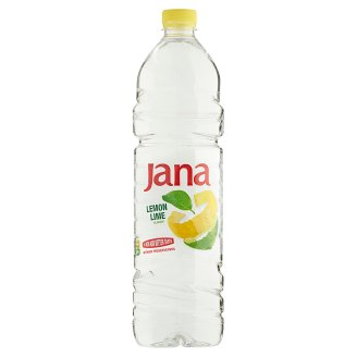 Jana Lemon and Lime Flavoured Low-Energy Non-Carbonated Drink 1,5 l