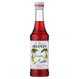 Monin Grenadine Syrup for Cocktails 0,25 l