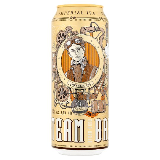 Steam Brew Imperial IPA világos sör 7,8% 0,5 l