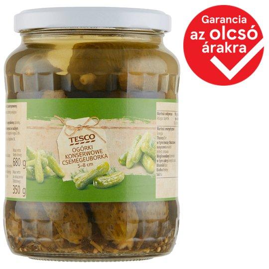 Tesco Pickled Gherkins 5-8 cm 680 g